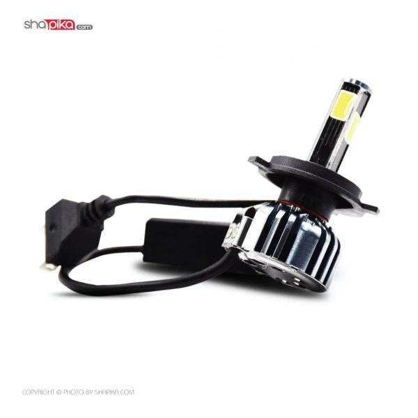 تصویر لامپ هدلایت خودرو 360Light مدل H4 چهار طرفه رنگ سفید بسته 2 عددی
