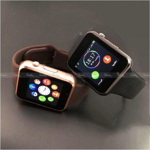 ساعت هوشمند G-Tab مدل W101 Hero رنگ رزگلد