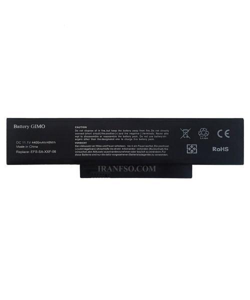 تصویر باتری لپ تاپ فوجیتسو Siemens 5515-5535-5555-6Cell