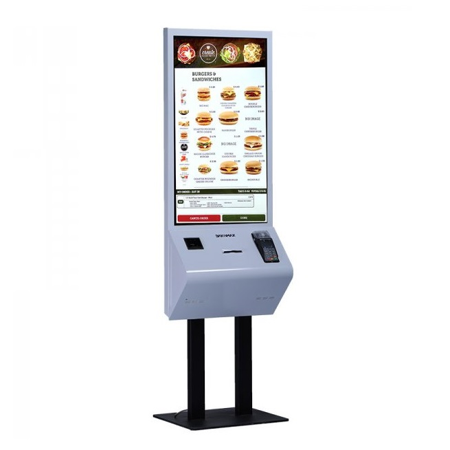 image کیوسک ثبت سفارش 32 اینچ بایامکس bayamax Self Service Kiosk