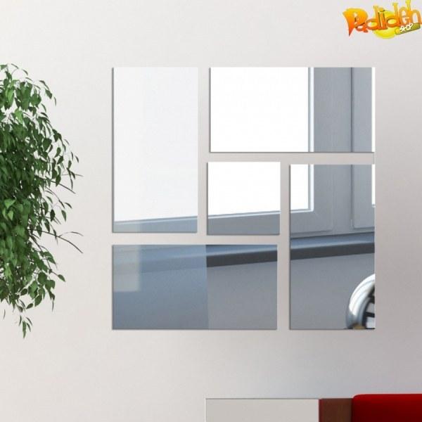 آینه پلکسی گلس دیواری طرح تایلینه