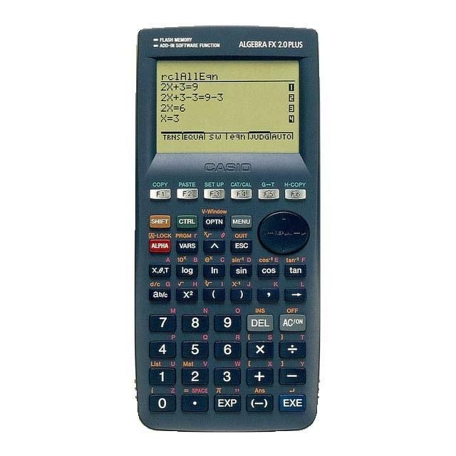 ماشین حساب کاسیو الجبرا FX2.0 PLUS | Casio ALGEBRA FX2.0 PLUS