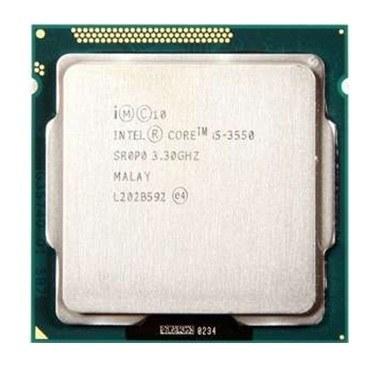 پردازنده تری اینتل مدل i۵ ۳۵۵۰ با فرکانس ۳.۳ گیگاهرتز   Intel Core-i5 3550 3.3GHz LGA 1155 Ivy Bridge TRAY CPU