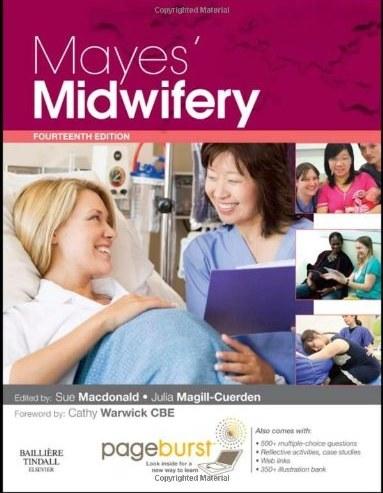 تصویر  دانلود کتاب Mayes' Midwifery A Textbook For Midwives Pageburst Package With Pageburst Online Access, 14th ed, 2011 - دانلود کتاب های دانشگاهی