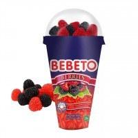 تصویر پاستیل ببتو مدل تمشک قیفی 100 گرمی Bebeto