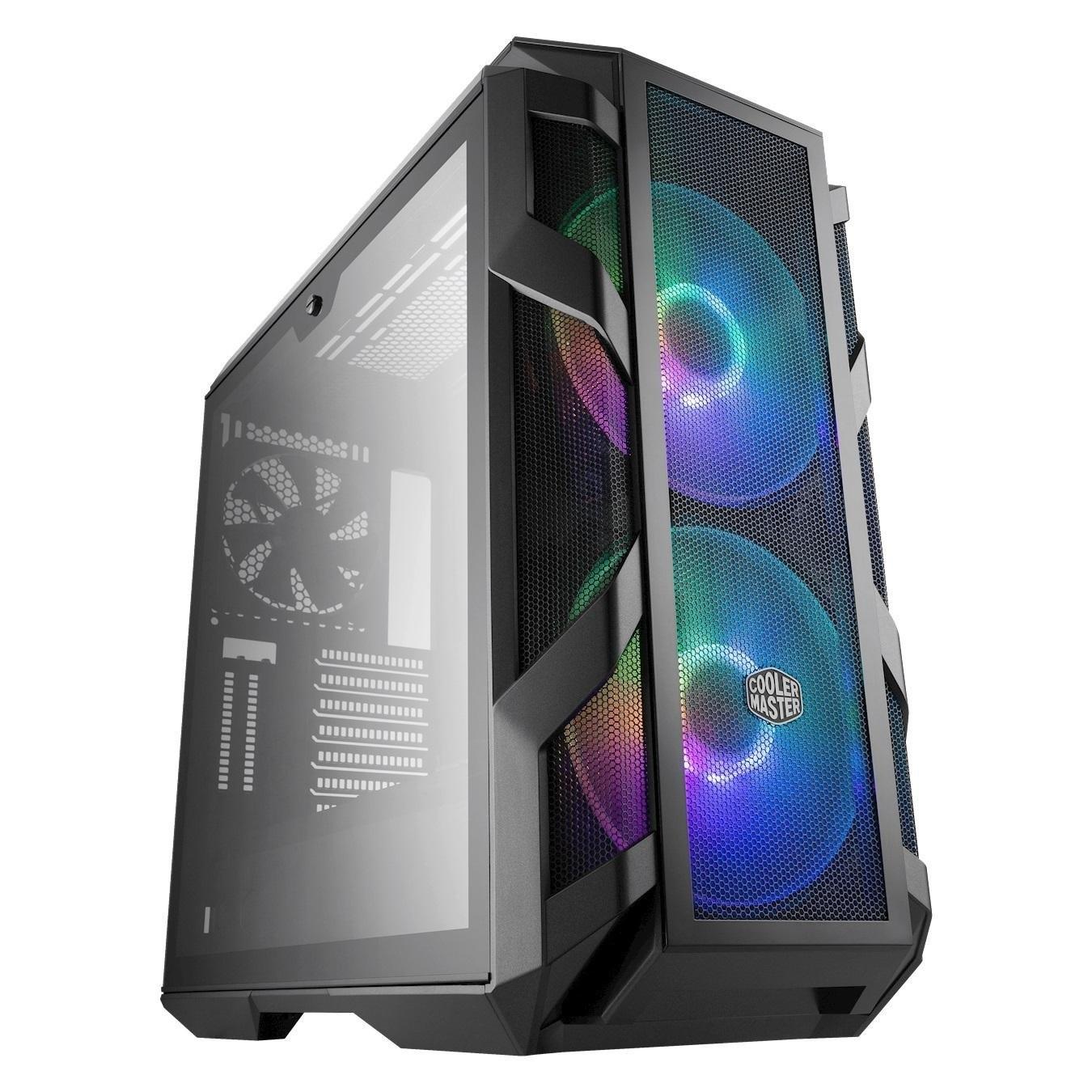تصویر کیس کامپیوتر کولر مستر مدل MasterCase H500M
