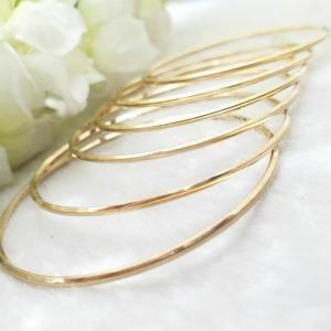 النگو طلا آینه ای