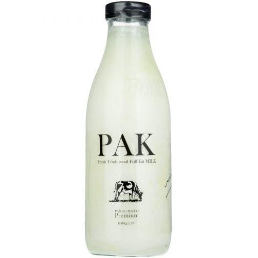 شیر پرچرب سنتی و تازه پاک مقدار 1 کیلوگرم                             Pak Full Fat Fresh Traditional Full Fat Milk 1 Kg |