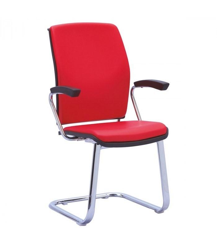 صندلی کنفرانسی رایانه صنعت رویال (PF-720) با روکش چرم یا پارچه