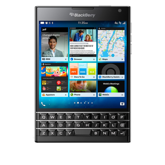 تصویر گوشی موبایل بلک بری مدل Passport ظرفیت 32 گیگابایت BlackBerry Passport Smartphone - 32GB