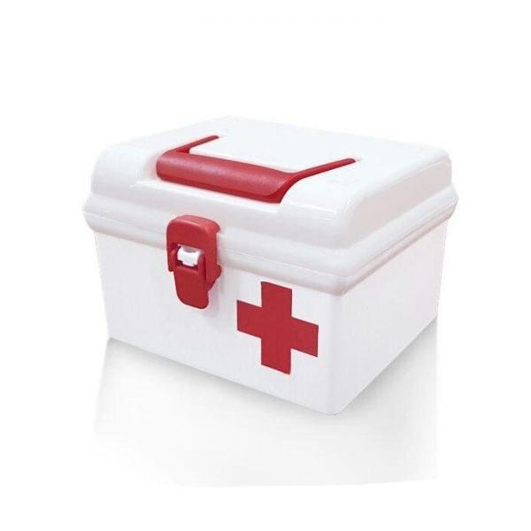 جعبه کمکهای اولیه مربع (1320) (لیمون)
