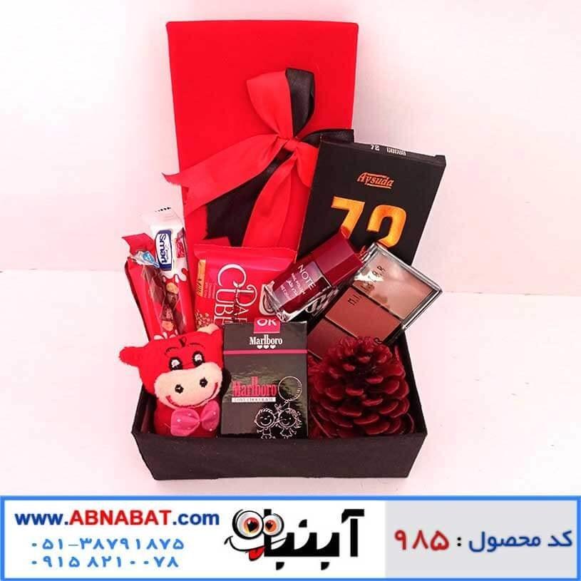 تصویر پک هدیه دخترانه ویژه ولنتاین کد 985