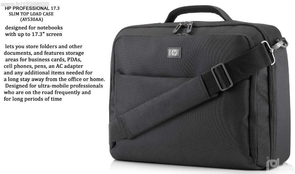 عکس کیف لپ تاپ HP professional 17.3inch  کیف-لپ-تاپ-hp-professional-173inch