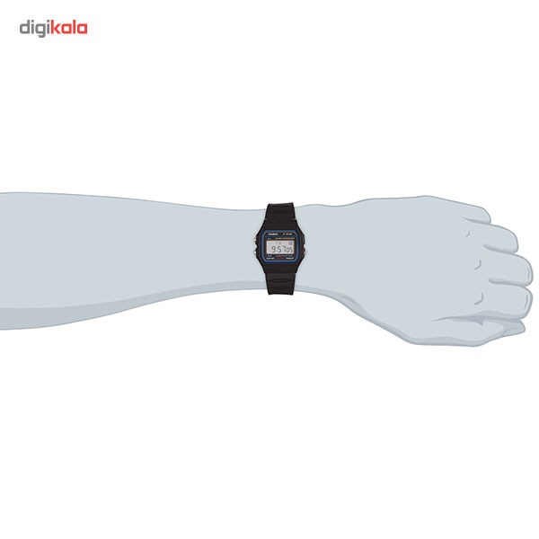 img ساعت مچی دیجیتال کاسیو مدل F-91W-1DG Casio F-91W-1DG Digital Watch