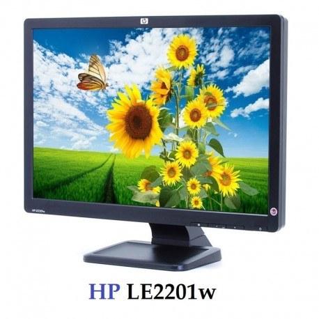 تصویر مانیتور LCD اچ پی 22 اینچ مدل HP LE2201w