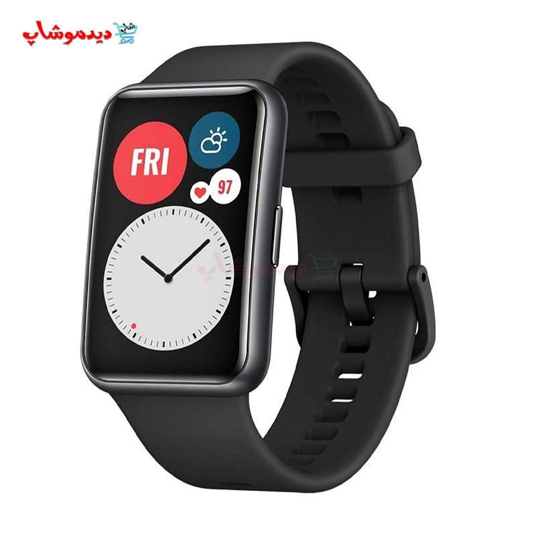 تصویر ساعت هوشمند هواوی واچ فیت نسخه 46 میلیمتری HUAWEI WATCH Fit T1A-B09 Smart Watch