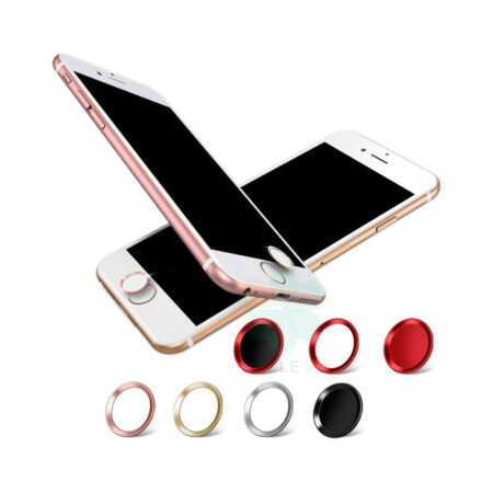 image محافظ دکمه هوم گوشی اپل آیفون Apple iPhone Touch ID Fingerprint Protector and Home Button Sticker for Apple iPhone