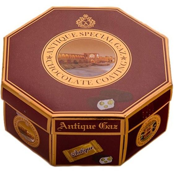تصویر گزآنتیک شکلاتی مخلوط سه مغز لقمه – ۴۵۰ گرم