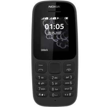 تصویر گوشی موبایل نوکیا مدل 105 (2017) دو سیم کارت Nokia 105 (2017)  Dual SIM Mobile Phone