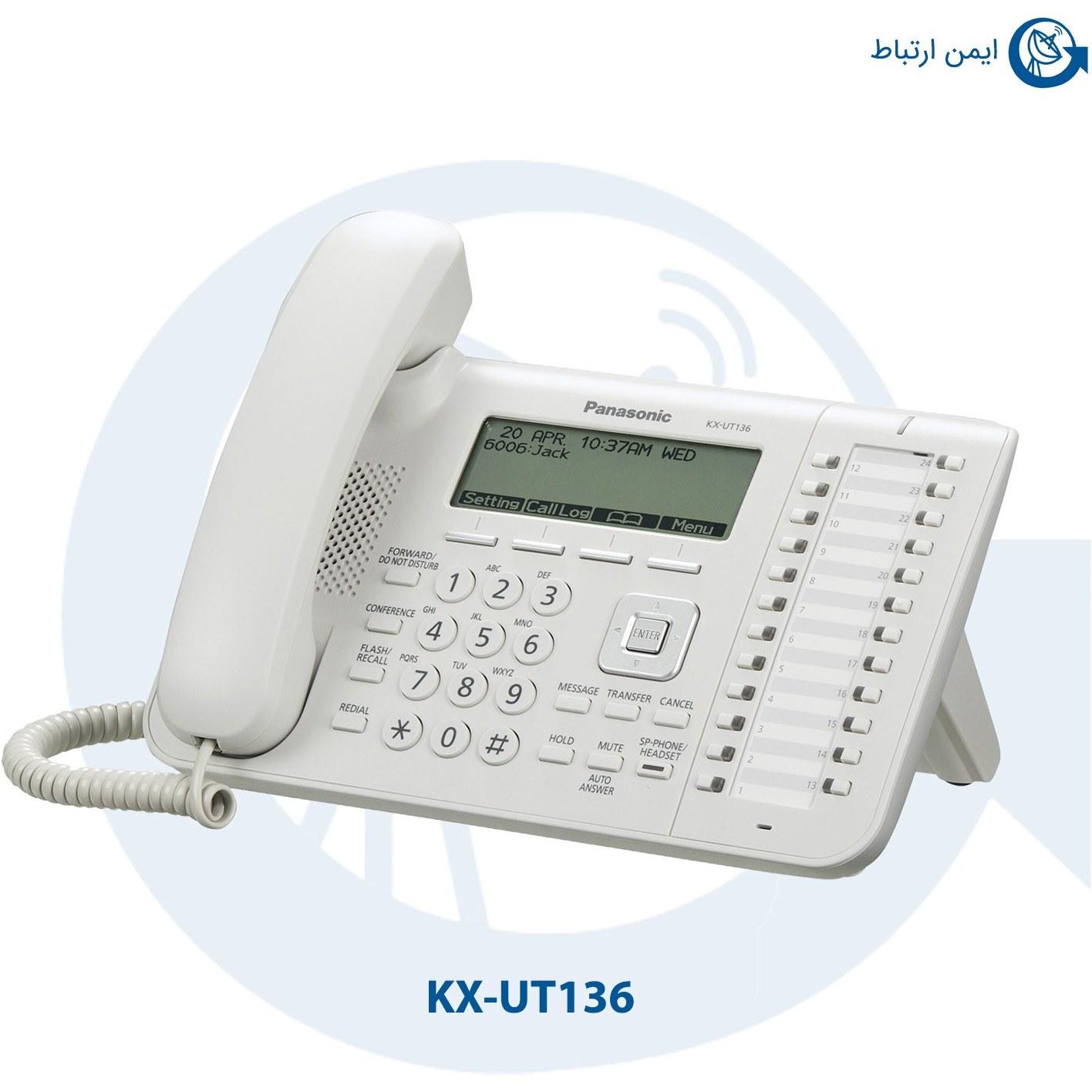 تصویر KX-UT136 تلفن تحت شبکه پاناسونیک