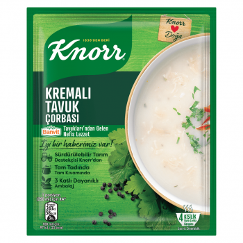 تصویر سوپ مرغ خامه ای کنور 65 گرم Kremali Tavuk Soup Knorr