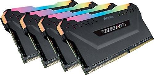 CORSAIR Vengeance RGB PRO 32GB (4x8GB) DDR4 3000MH...  
