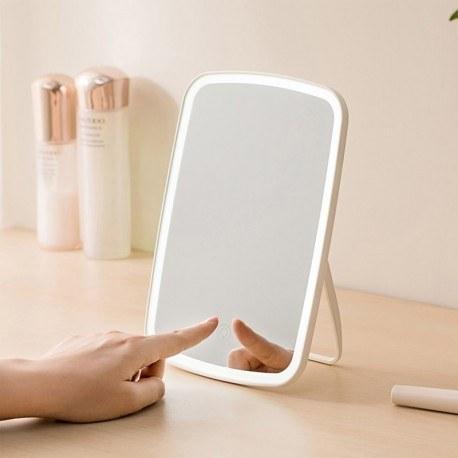 تصویر آینه آرایشی چراغ دار شیائومی مدل NV026 ا Xiaomi LED Makeup Mirror NV026 Xiaomi LED Makeup Mirror NV026
