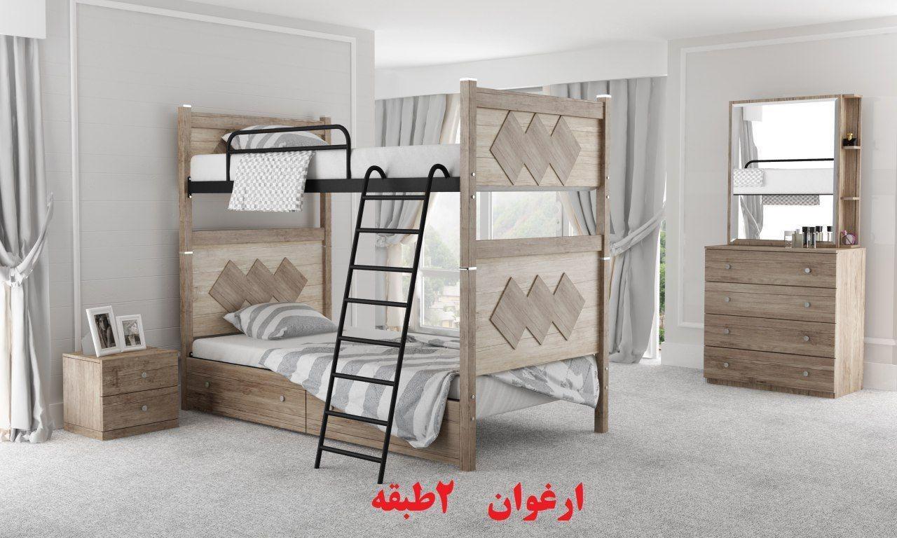 عکس تخت خواب دو طبقه مدل ارغوان  تخت-خواب-دو-طبقه-مدل-ارغوان