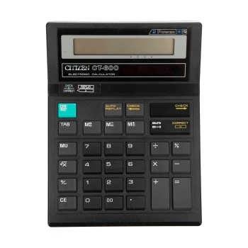 عکس ماشین حساب سیتیزن مدل CT-600 Citizen CT-600 Calculator ماشین-حساب-سیتیزن-مدل-ct-600