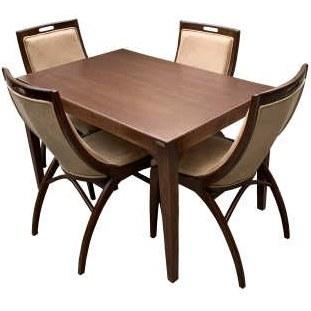 میز و صندلی ناهار خوری اسپرسان چوب کد Sm59 |