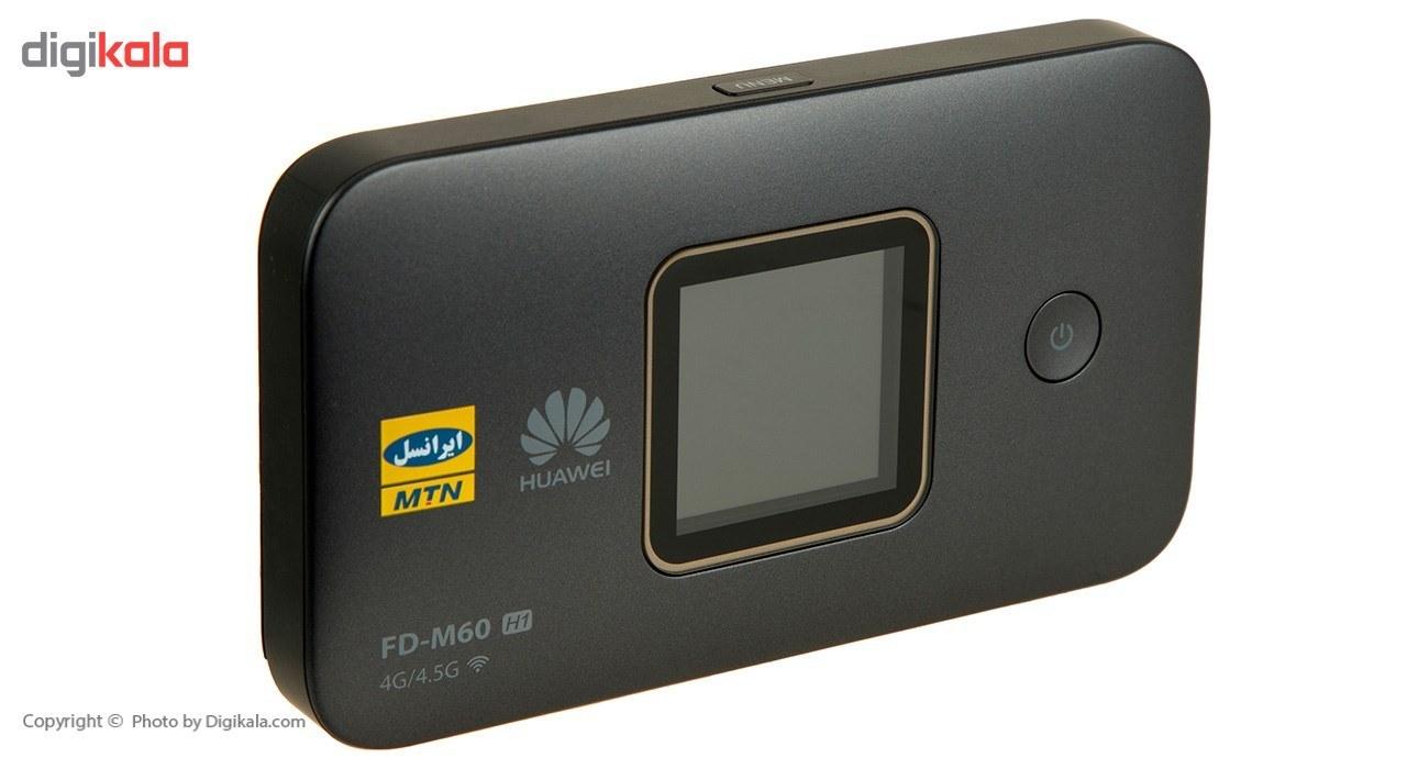 img مودم 4G/4.5G قابل حمل ایرانسل مدل FD-M60 مودم روتر 3G/4G ایرانسل FD-M60 4G/4.5G Portable Modem