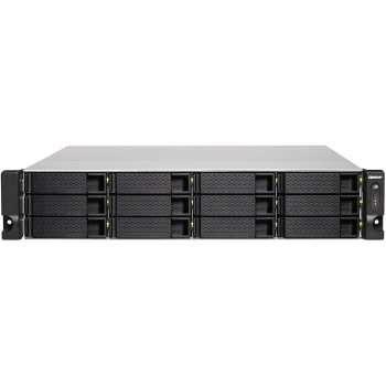 ذخیره ساز تحت شبکه کیونپ مدل TS-1273U-RP-8G   Qnap TS-1273U-RP-8G  NAS