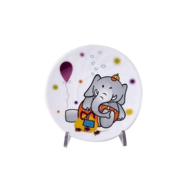 سرویس آرکوپال کودک پارس اوپال ۵ پارچه دایره مدل Elephant | Pars Opal child arcual service 5 Elephant model cloth