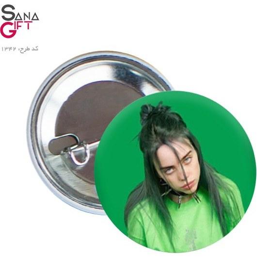 تصویر پیکسل طرح بیلی آیلیش سبز
