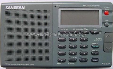 رادیو سانجین فول موج مدل SANGEAN ATS 606AP |