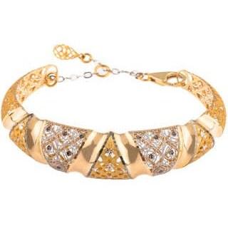 دستبند طلا 18عیار زنانه کد 232 |