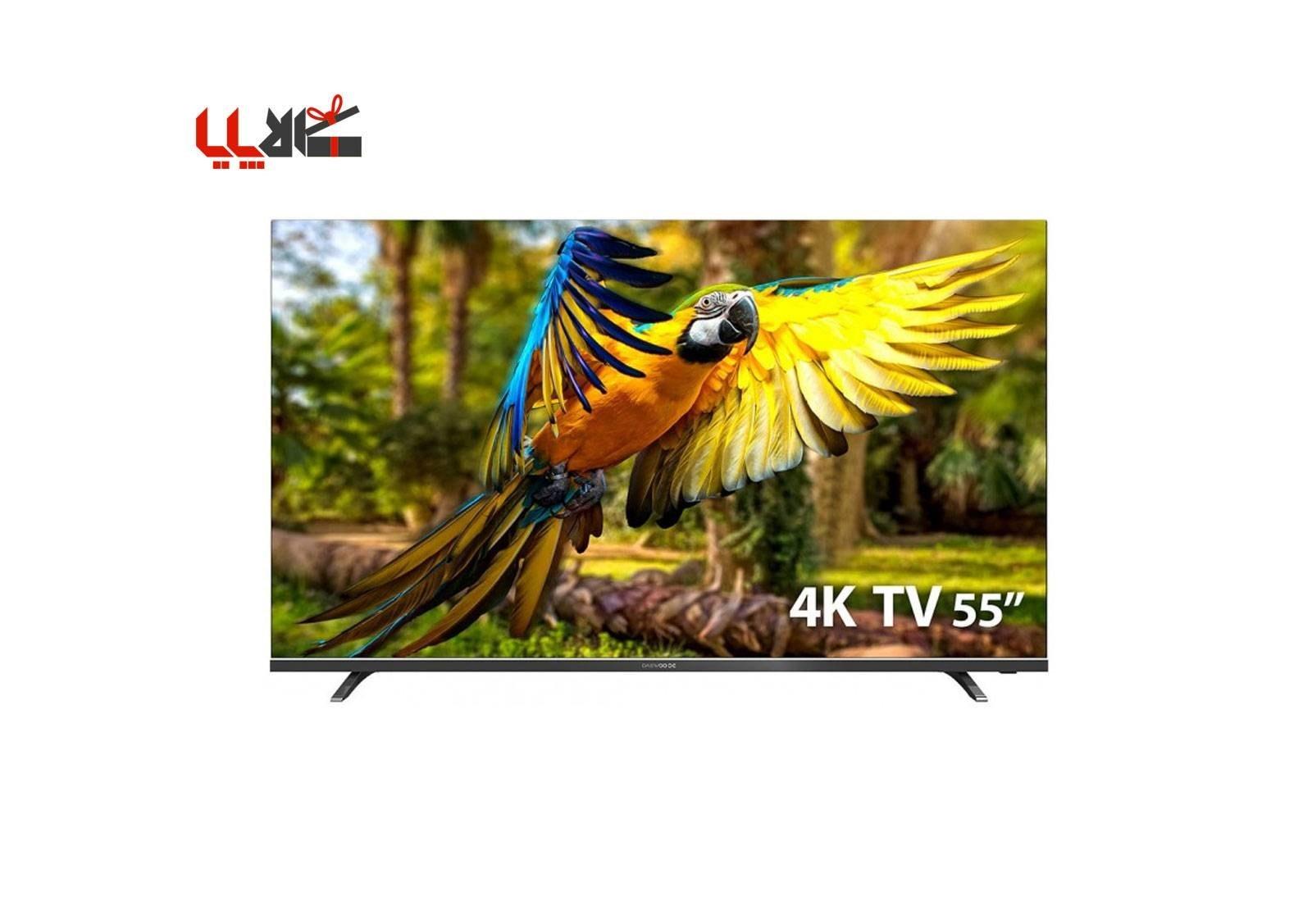 تصویر تلویزیون دوو مدل DLE-55K4300U Daewoo DLE-55K4300U UHD-4K LED TV