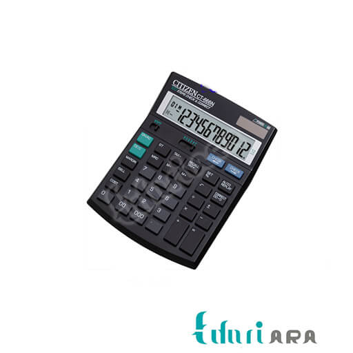 تصویر ماشین حساب CT-666N سیتیزن Citizen CT-666N Calculator