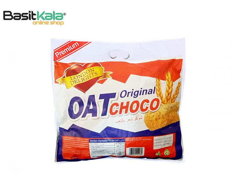 تصویر شکلات رژیمی غلات اوت شوکو Oat choco