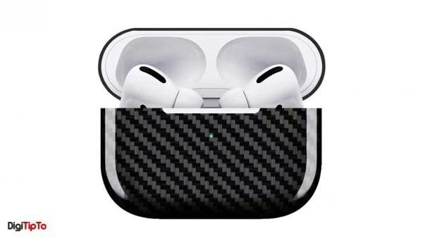 کاور محافظ کربنی آیفون AirPod Pro
