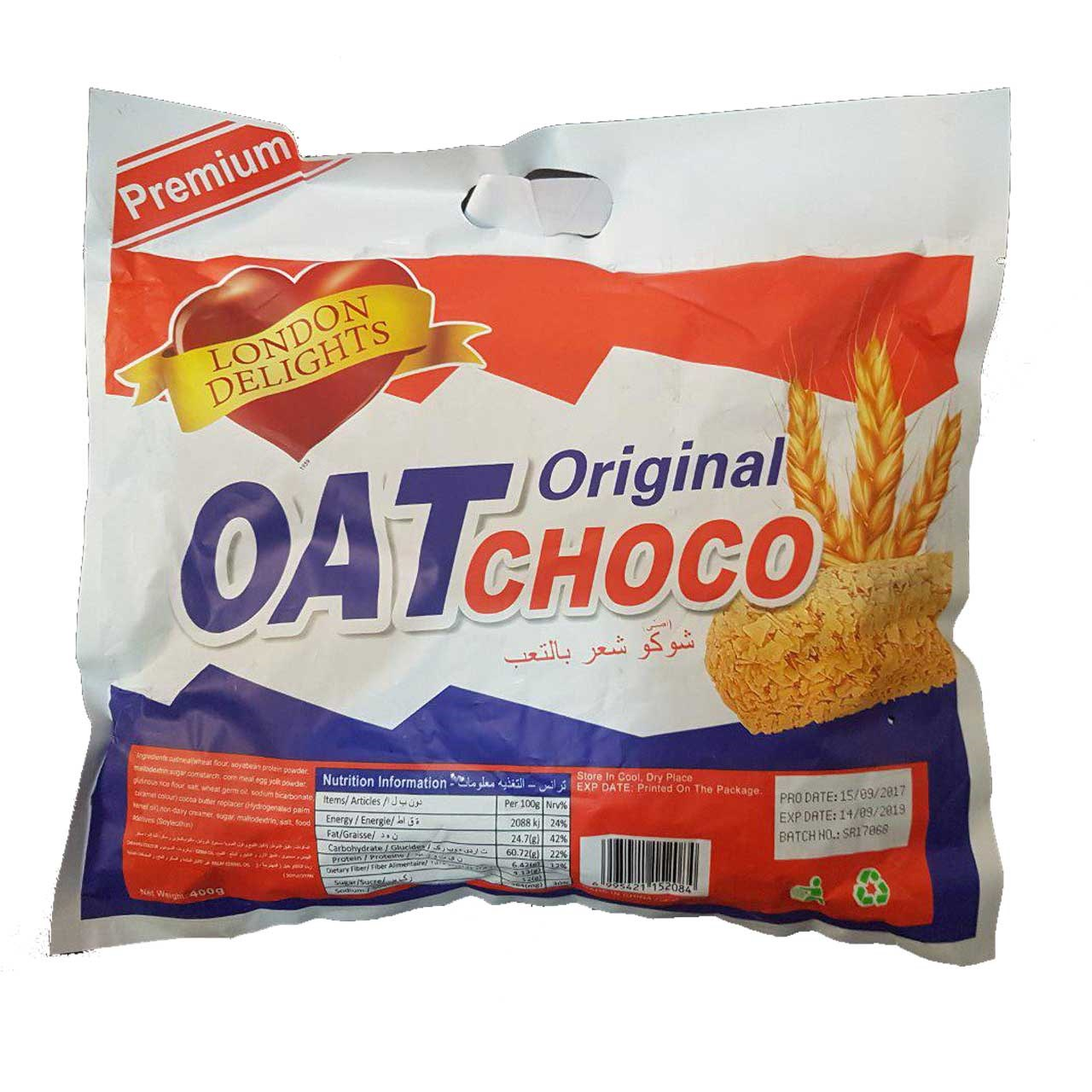تصویر ساشه غلات Oat Choco مدل Original Oat Choco Chocolate Single Serving