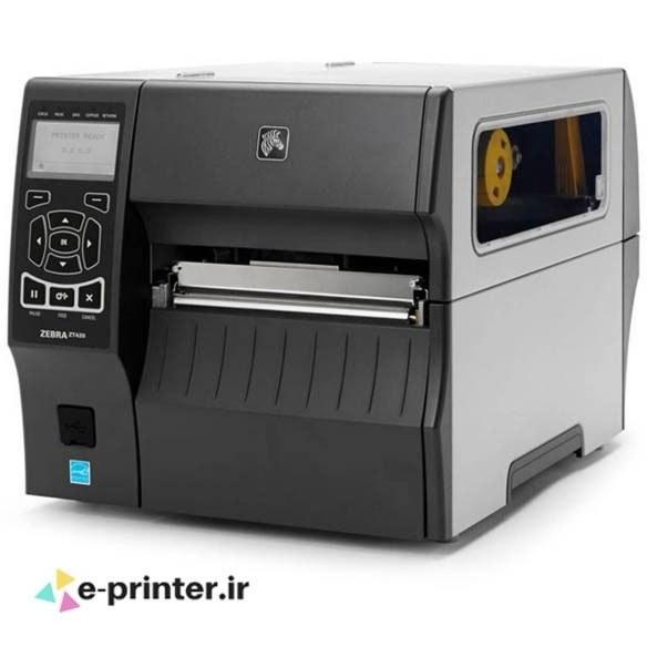 تصویر لیبل پرینتر زبرا مدل ZT420 رزولوشن 203 dpi Zebra ZT420 Label Printer With 203 dpi Print Resolution