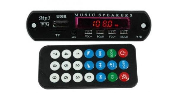 MP3 PLAYER با کنترل از راه دور و رادیو