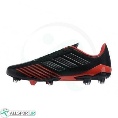 کفش فوتبال آدیداس پردیتور طرح اصلی مشکی قرمز Adidas Predator 19.2 FG Soccer Black Silver Red