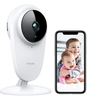تصویر پیجر و دوربین امنیتی خانگی وکتور وای فای دار Victure 1080P FHD Baby Monitor Wireless Indoor Home Security Camera