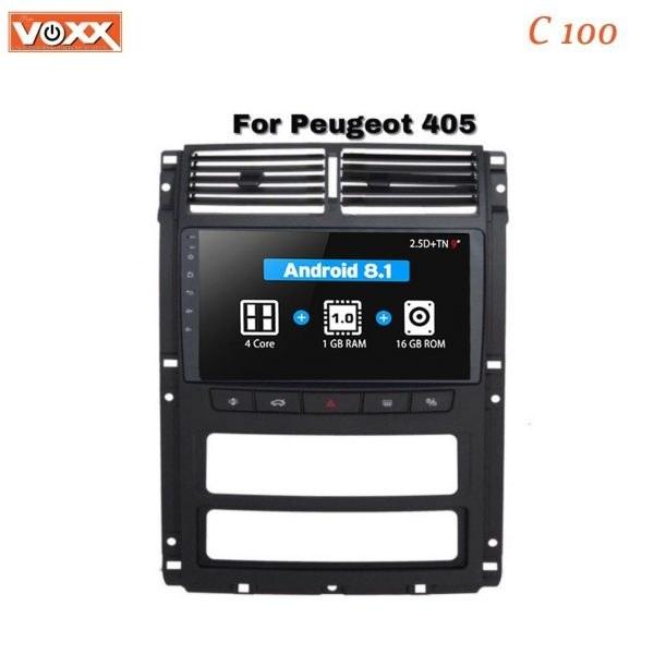 مناسب برای پژو پارس و 405 داشبورد جدید   مانیتور اندروید VoxX مدل C100-پژو پارس و 405