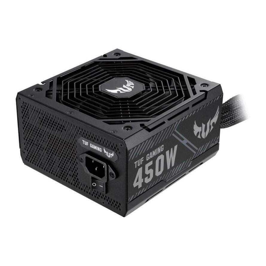 تصویر پاور 450 وات ایسوس TUF GAMING 450B ASUS TUF-GAMING-450B Bronze Power Supply