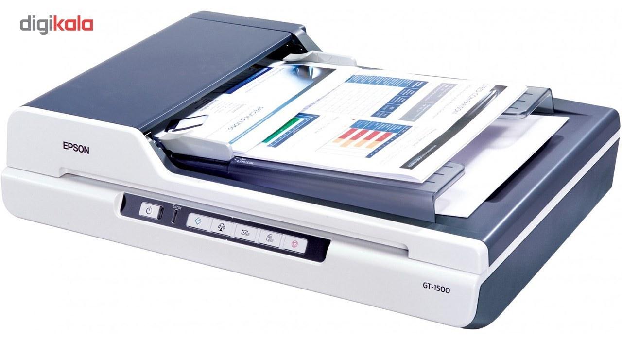 img اسکنر اپسون مدل جی تی ۱۵۰۰ Epson GT1500 Photo Scanner