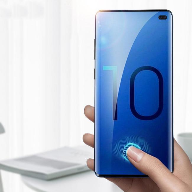 UV Curve Glass Samsung Galaxy S10 Plus | گلس خم UV سامسونگ UV Curve Glass Samsung Galaxy S10 Plus