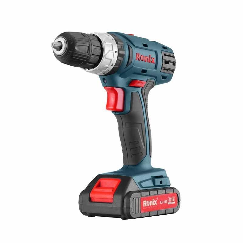 تصویر دریل شارژی Ronix مدل 8018 Ronix 8018 cordless drill model 8018